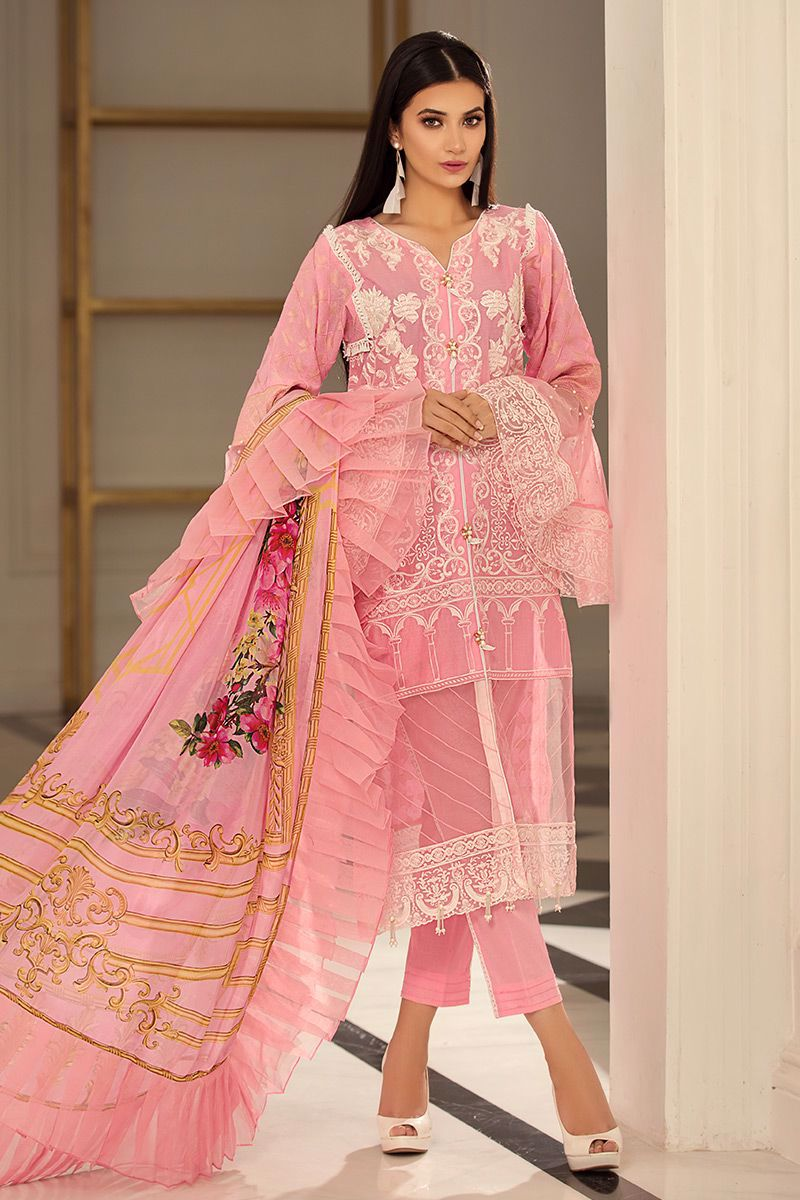 Picture of Pink ruffles